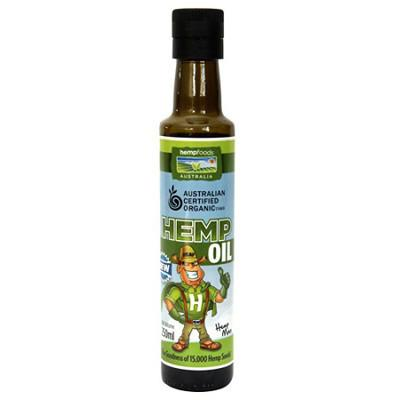 Hemp Foods Australia Hemp Seed Oil Certified Organic