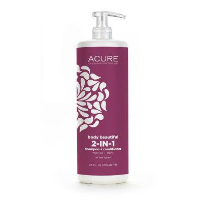 Acure Body Beautiful 2 in 1 Shampoo and Conditioner 709mL