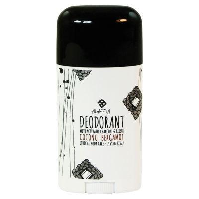 Alaffia Deodorant 75g with Activated Charcoal and Reishi