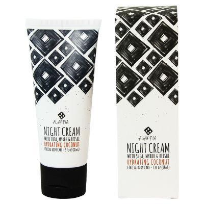 Alaffia Night Cream Hydrating Coconut Reishi 88ml