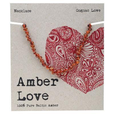 Amber Love Children's Necklace 33cm