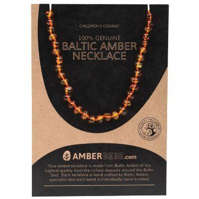 Amberbebe Baltic Amber Children's Necklace 33cm