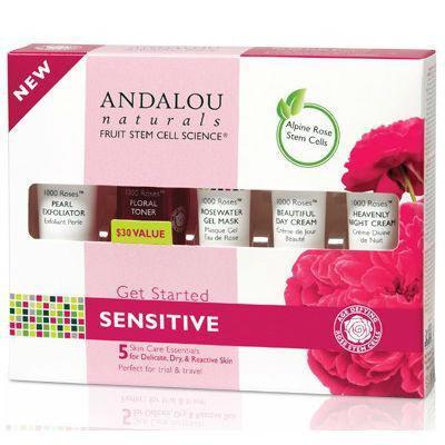 Andalou Naturals 1000 Roses Get Started Kit