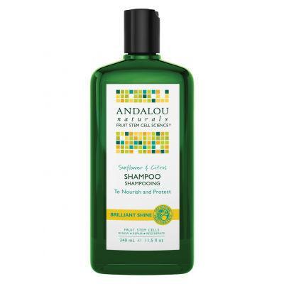 Andalou Naturals Brilliant Shine Shampoo 340mL