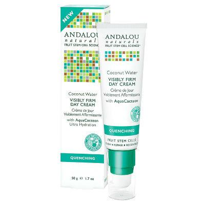 Andalou Naturals Coconut Visibly Firm Day Cream 50g