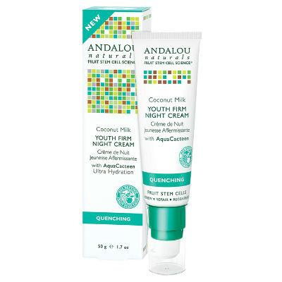 Andalou Naturals  Coconut Youth Firm Night Cream 50g