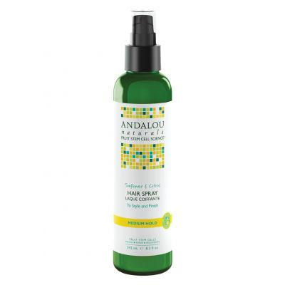 Andalou Naturals Sunflower & Citrus Hair Spray 242mL Medium Hold