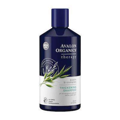 Avalon Organics Thickening Shampoo Biotin B-Complex Therapy 400mL