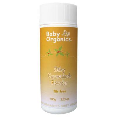 Baby Organics Baby Cornstarch Powder 100g