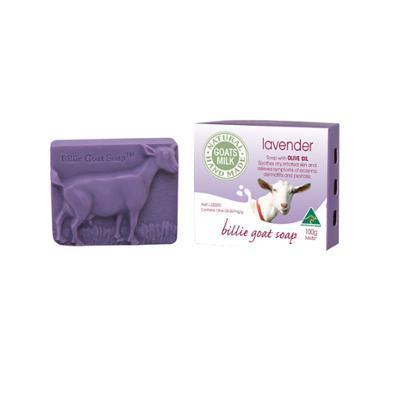 Billie Goat Soap Goat's Milk Soap  Lavender 100g
