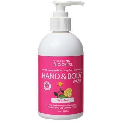 Biologika Hand & Body Wash 250mL Citrus Rose