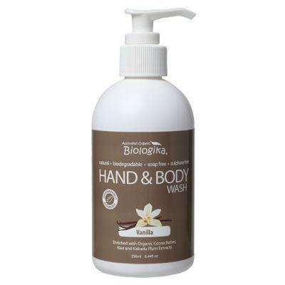 Biologika Hand & Body Wash 250mL Vanilla