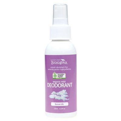 Biologika Organic Mist Deodorant 125mL Dream Life