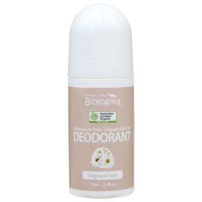 Biologika Organic Deodorant Roll On 70ml Fragrance Free