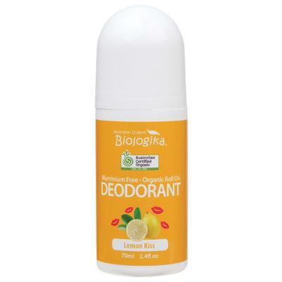 Biologika Organic Deodorant Roll On 70ml Lemon Kiss