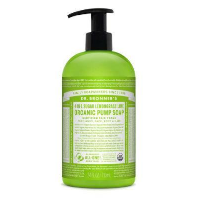 Dr Bronner's Organic Pump Soap 710mL