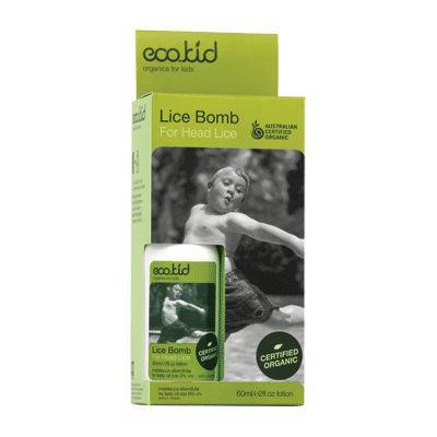 eco.kid Organics For Kids Lice Bomb For Head Lice 60mL