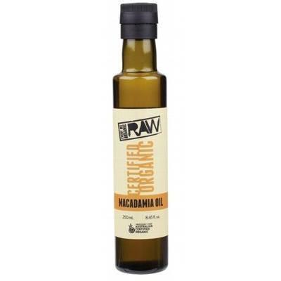 Every Bit Organic Raw Macadamia Oil 250ml