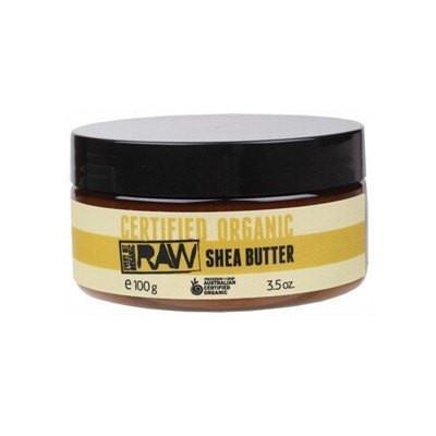 Every Bit Organic Raw Shea Butter 100g Certified Organic