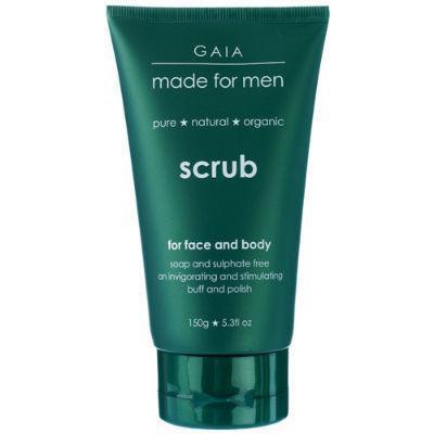 Gaia Made For Men Scrub 150g for Face & Body