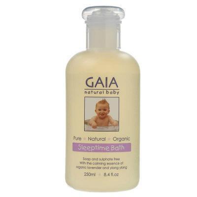 Gaia Natural Baby Sleeptime Bath 250mL