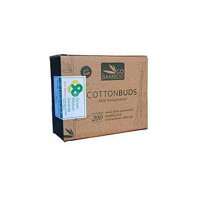 Go Bamboo Cotton Buds 200s