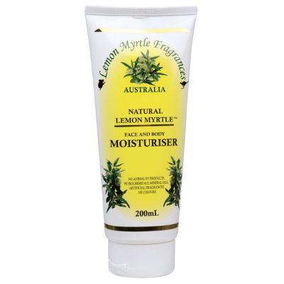 Lemon Myrtle Fragrances Moisturiser 200mL