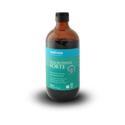 Melrose Chlorophyll Forte 500mL | Detox Cleanser Antioxidant