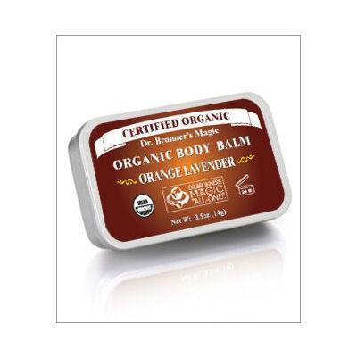 Dr Bronner's Organic Body Balm 14g