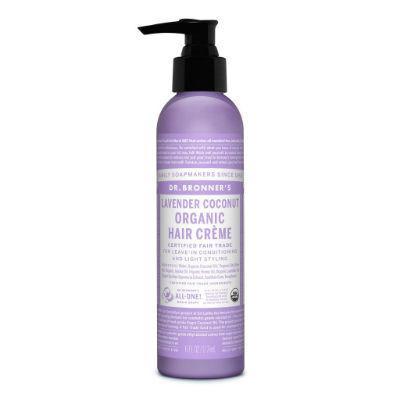 Dr Bronner's Organic Hair Creme 178mL Lavender Coconut