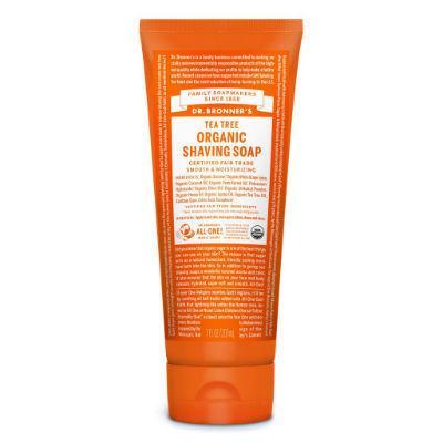 Dr Bronner's Organic Shaving Soap 208mL