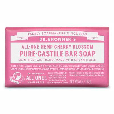 Dr Bronner's All-One Hemp Pure Castile Soap Bar