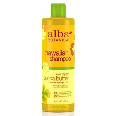 Alba Botanica Hawaiian Shampoo Cocoa Butter 355mL