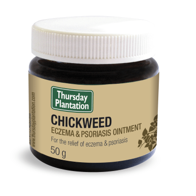 Thursday Plantation Chickweed Eczema Psoriasis Ointment 50g