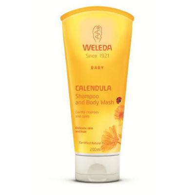Weleda Baby Calendula Shampoo & Body Wash 200mL